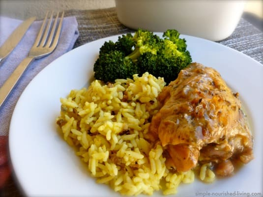 Slow Cooker Chicken Thighs with Beer