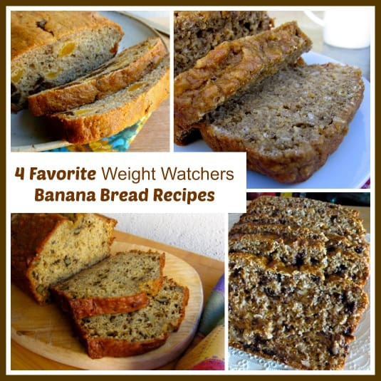 Favorite Weight Watchers Banana Bread Recipes