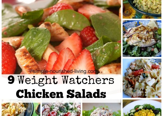 9 Weight Watchers Chicken Salad Recipes