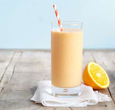 Simple Cantaloupe Smoothie Recipe | Weight Watchers Friendly Smoothies
