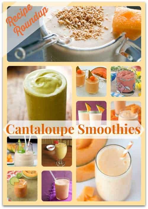 Cantaloupe Smoothie Recipe Roundup