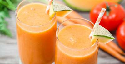 Canteloupe Veggie Smoothie by Blendtec