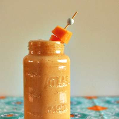 Cinnamon Cantaloupe Smoothie by Spa Bettie