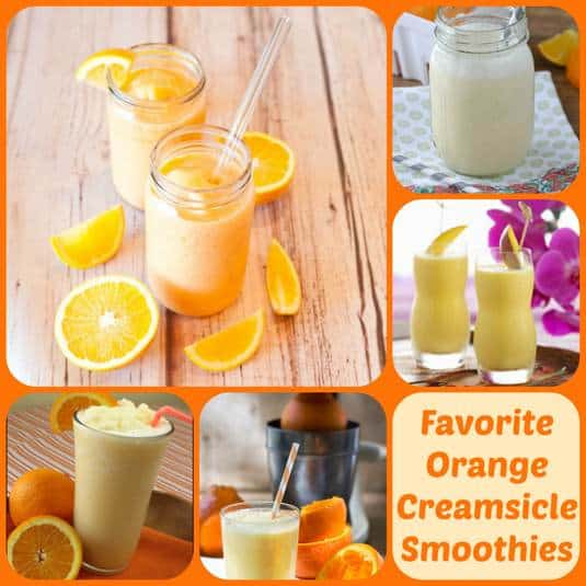 Favorite Orange Creamsicle Smoothies