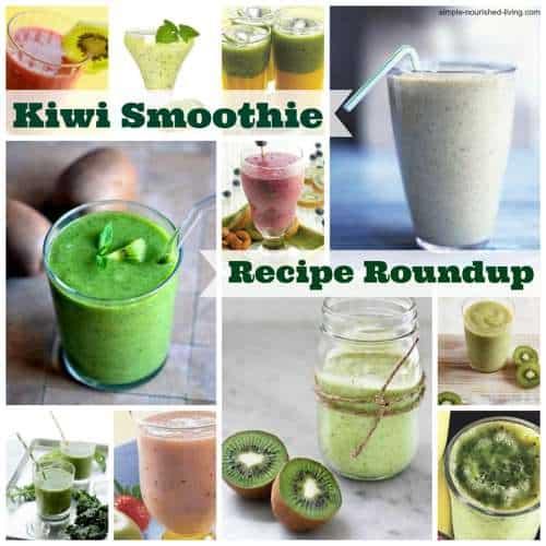 Kiwi Smoothie Recipe Roundup
