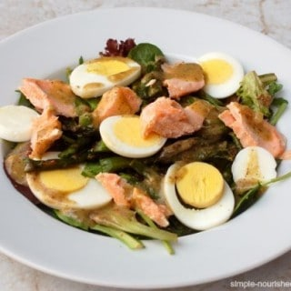 Salmon Egg Asparagus Salad – 6 SmartPoints