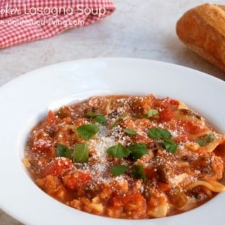 Slow Cooker Lasagna Soup – 4 SmartPoints
