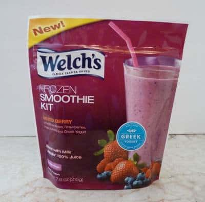 Welch's Mixed Berry Frozen Smoothie Kit