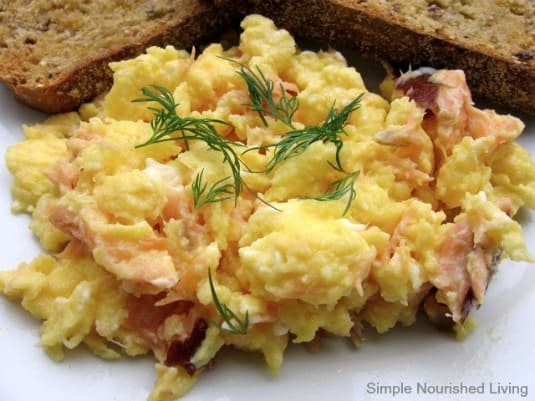 Scrambled eggs with salmon with weight watchers points scrambled eggs with salmon fandeluxe Document