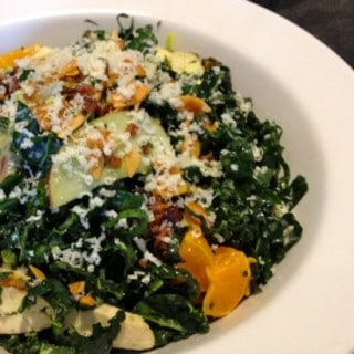 Eating Out on Weight Watchers: The Henry's Kale Salad