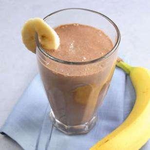 Banana Cocoa Soy Smoothie