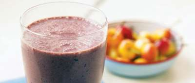 Chocolate Cherry Breakfast Smoothie
