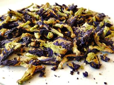 Dried Organic Butterfly Pea Flowers