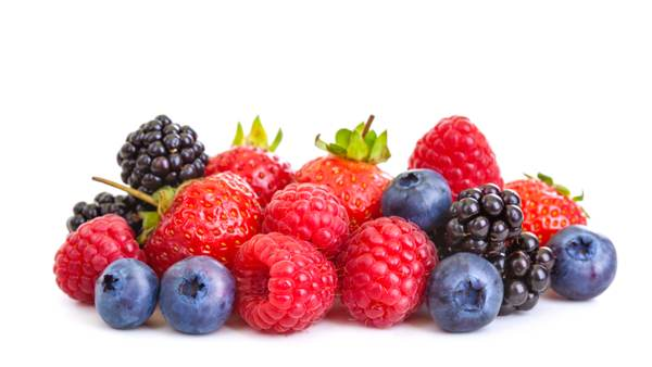 Fresh Blueberries, Blackberries, Strawberries and Raspberries