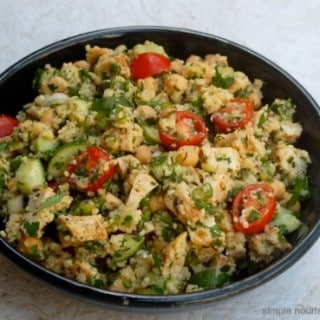 Mediterranean Chicken Couscous Salad -5 SmartPoints
