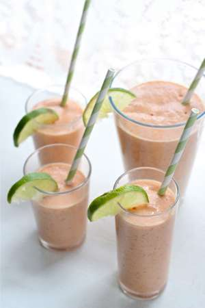 Papaya Coconut Smoothie Recipe