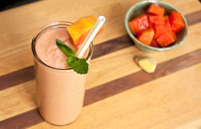 Papaya Ginger Smoothie Recipe