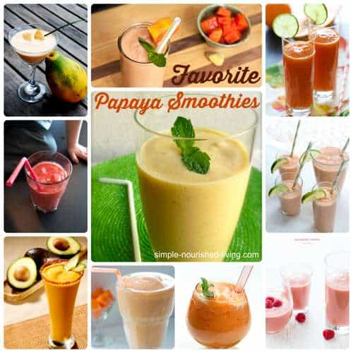 Favorite Papaya Smoothie Recipes