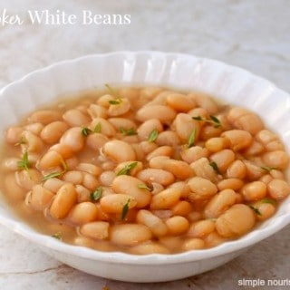Slow Cooker White Beans – 0 Freestyle SmartPoints