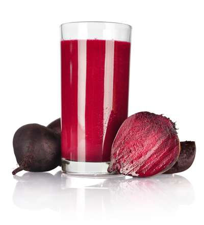 Blueberry Beet Almond Smoothie