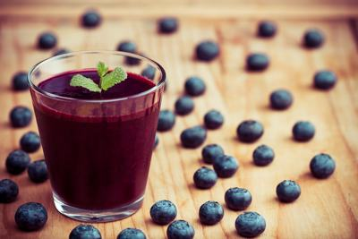 Blueberry Watermelon Smoothie