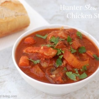 Easy Healthy Slow Cooker Chicken Cacciatore Stew – 3 WW Freestyle SmartPoints
