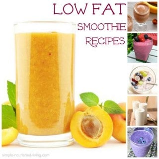 Low Fat Smoothies with Weight Watchers Points