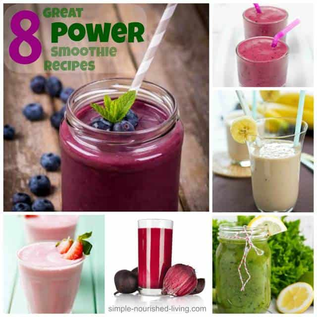8 Great Power Smoothie Recipes