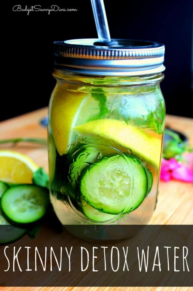 skinny water recipe