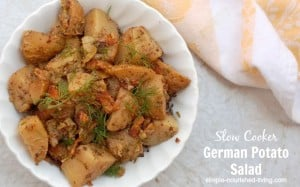 Slow Cooker German Potato Salad