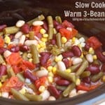 Slow Cooker Bean Salad