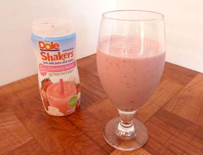 Strawberry Banana Dole Smoothie