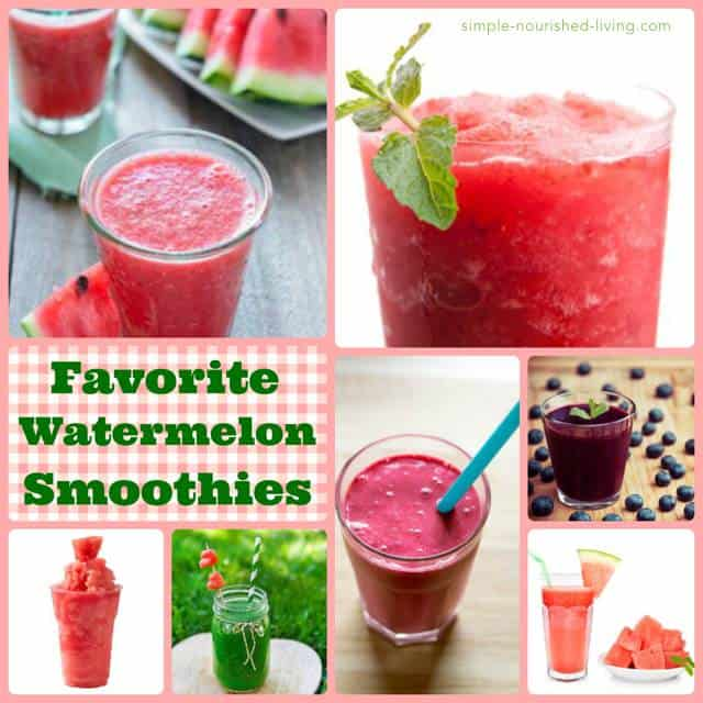 Favorite Watermelon Smoothie Recipes