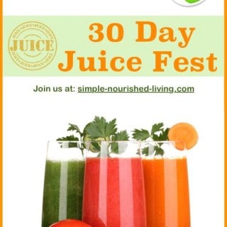 30-Day Juice Fest and Weight Watchers