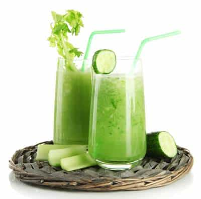 Healthy Green Smoothie for Breakfast