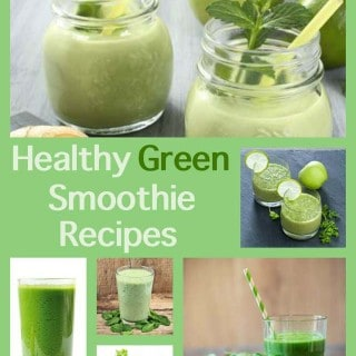 Healthy Green Smoothie Recipes with Weight Watchers Points
