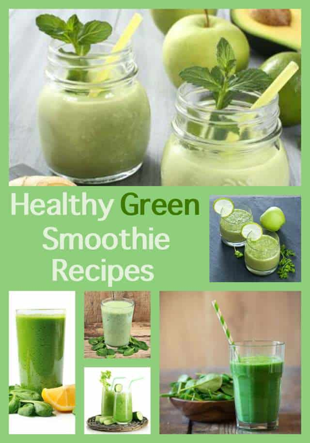 Favorite Healthy Green Smoothie Recipes