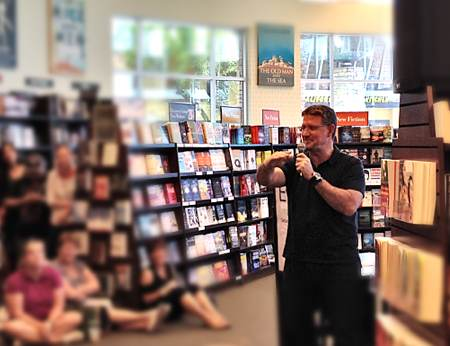 Joe Cross at Barnes & Noble, Phoenix, AZ