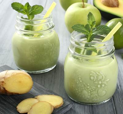 Peters Rise and Shine Green Smoothie