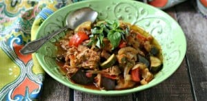 sausage vegetable ratatouille
