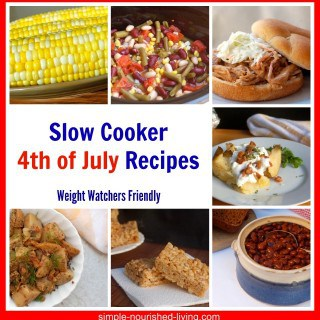 Easy Slow Cooker 4th of July Recipes