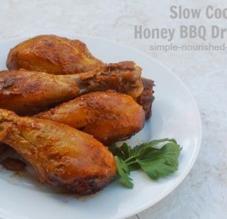 Healthy Slow Cooker Chicken Recipes - Slow Cooker Honey BBQ Drumsticks