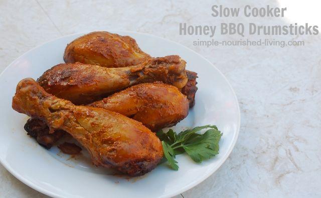Slow Cooker Bbq Chicken Leg Recipes