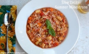 healthy slow cooker summer vegetable soup