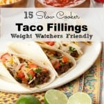 Slow Cooker Taco Fillings