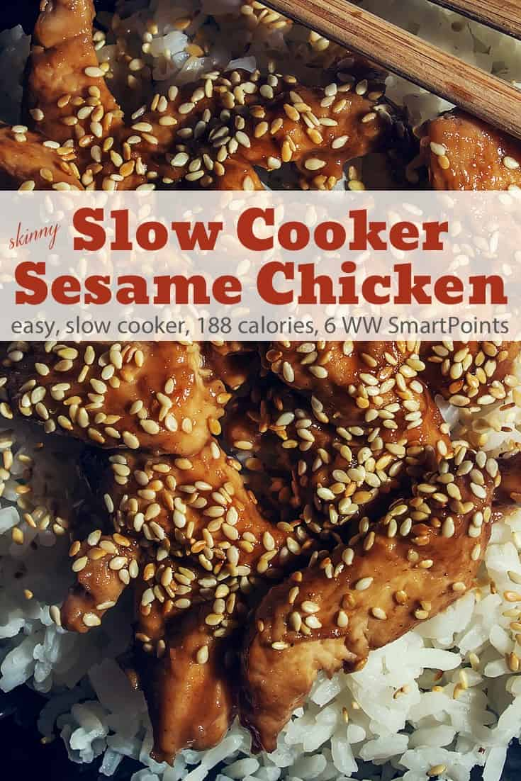 Slow Cooker Sesame Chicken Thighs Simple Nourished Living