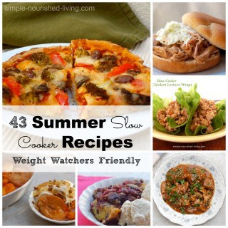 43 Summer Slow Cooker Recipes for Weight Watchers