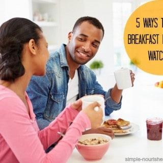 5 Winning Breakfast Ideas for Weight Watchers