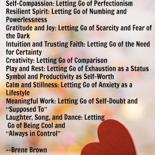 Brene Brown Whole Hearted Living