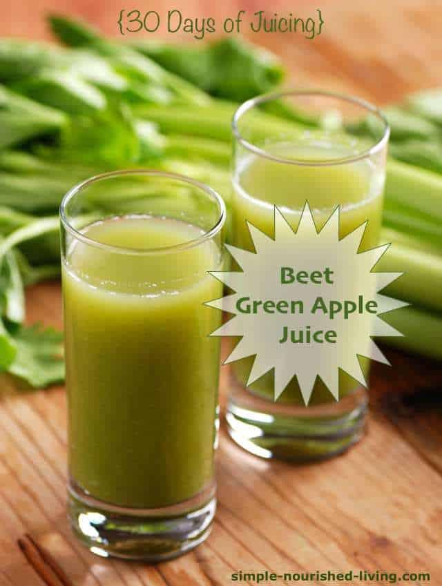 Beet Green Apple Juice Recipe